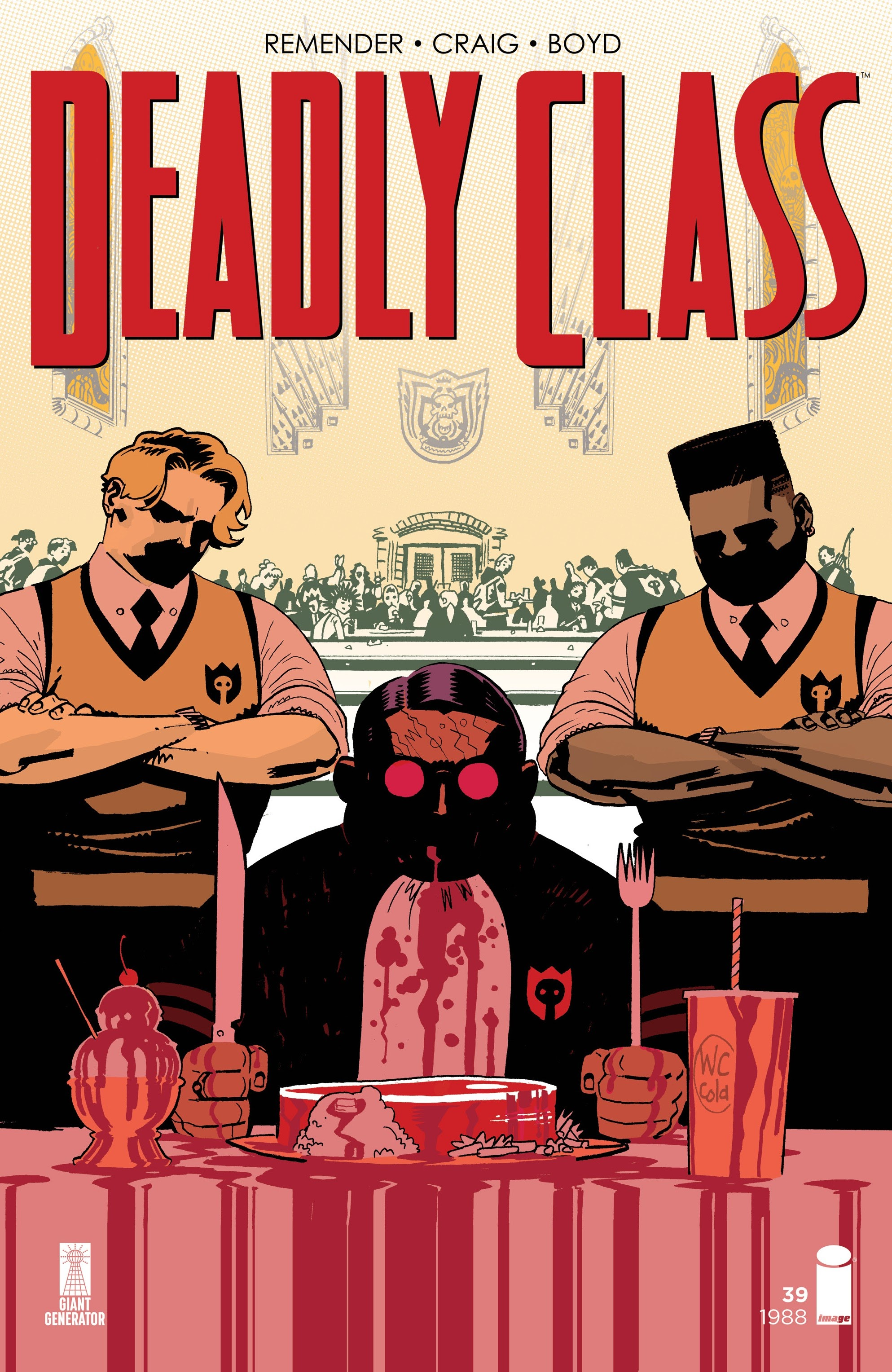 Deadly Class 39 Page 1