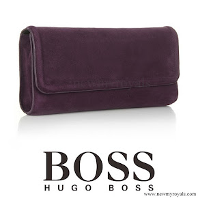 Crown Princess Mary Style HUGO BOSS Clutch Bag