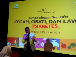 Edukasi diabetes oleh Kementerian Kesehatan bersama Sun Life Financial