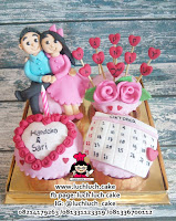 Cupcake Romantis Tema couple