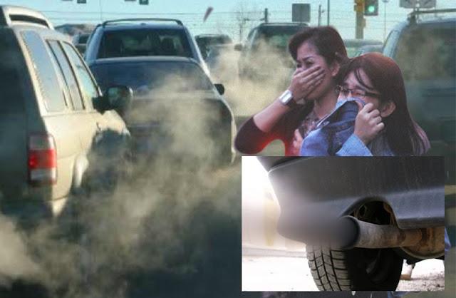 Polusi Udara karena Emisi Bahan Bakar Kendaraan