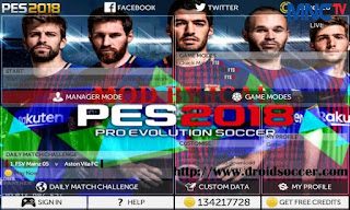 FTS Mod PES 2018 by Ical