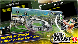 Real Cricket ™ 16 Mod Apk v2.6.7 (Unlimited Money)