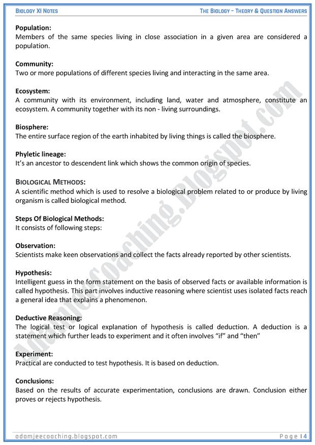 the-biology-descriptive-question-answers-biology-11th