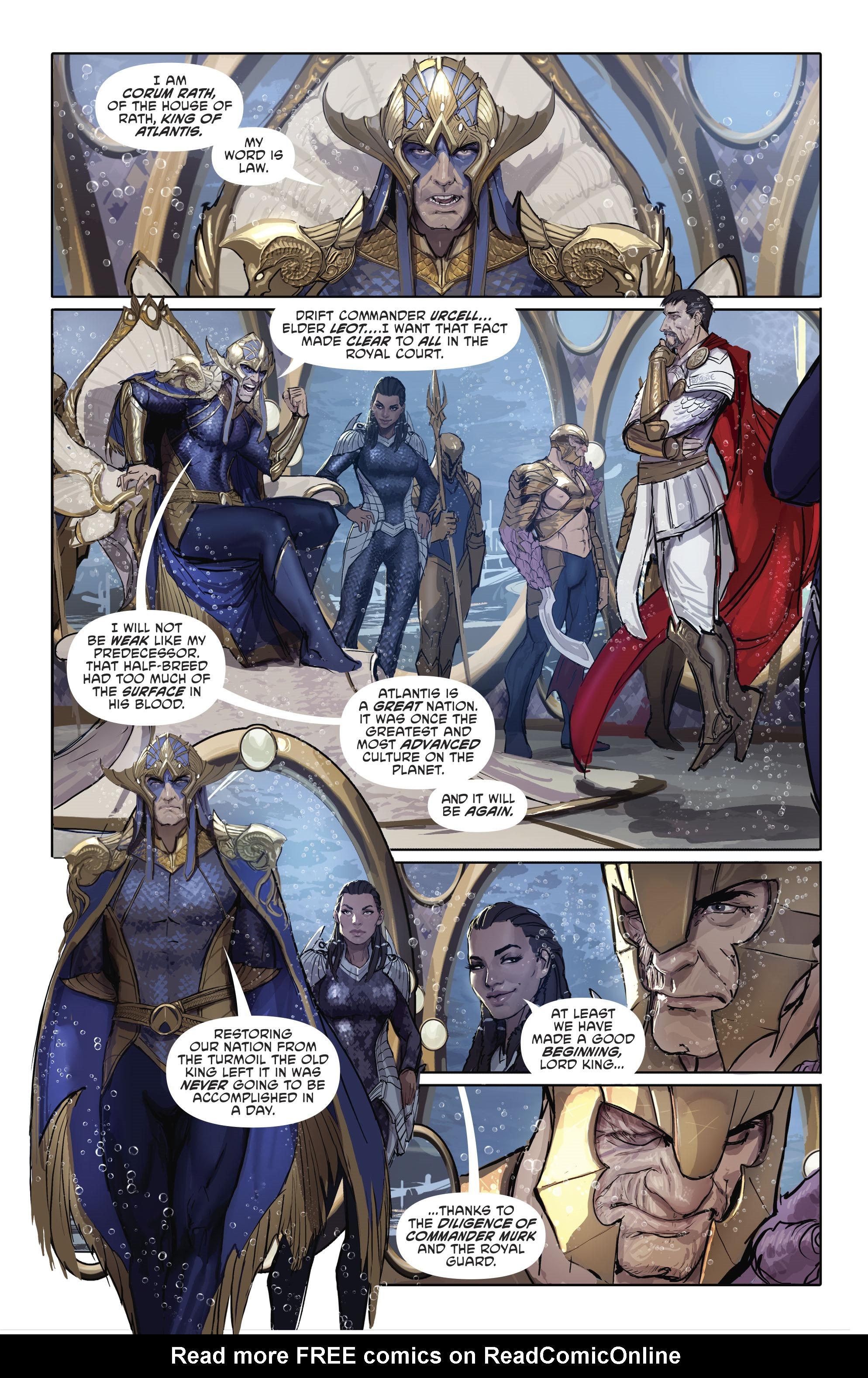 Read online Aquaman (2016) comic -  Issue #25 - 5