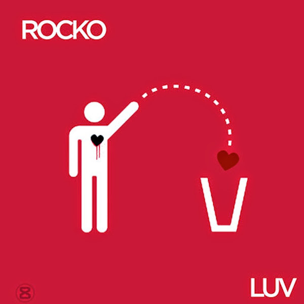 Rocko - Luv - Single Cover
