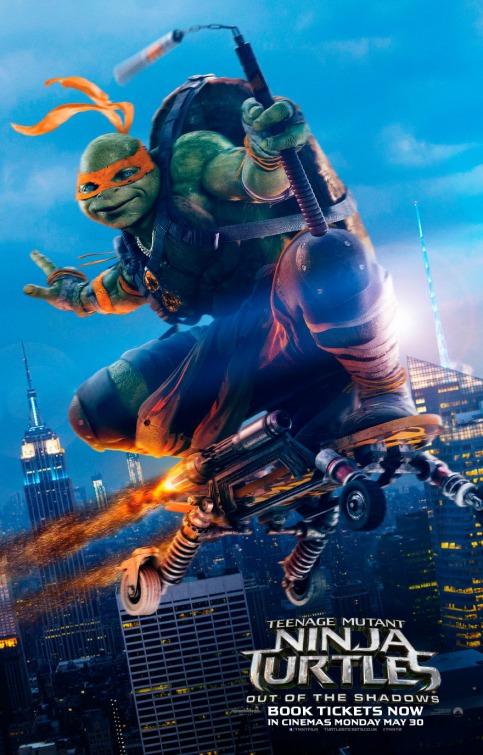 Teenage Mutant Ninja Turtles Out of the Shadows Movie Download HD 2016 Hindi Dubbed thumbnail