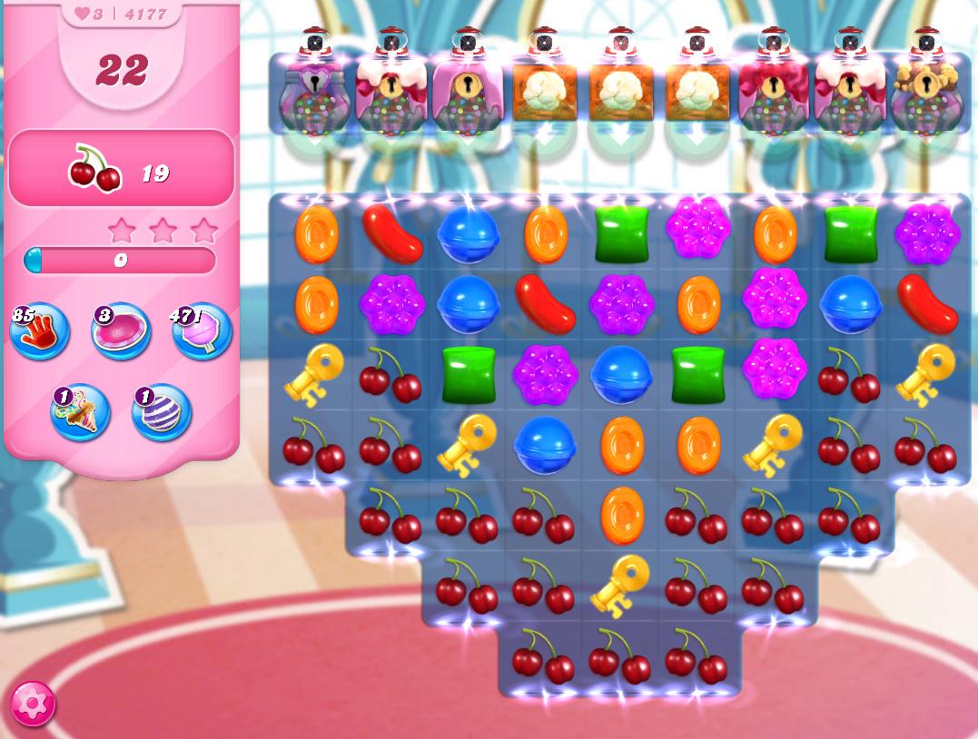 Candy Crush Saga level 4177