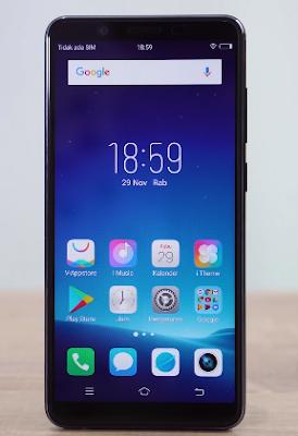 Review smartphone vivo v7