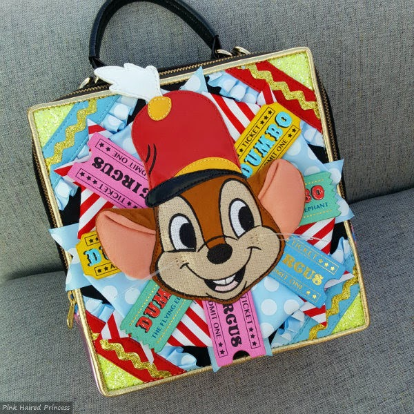 Disney Dumbo handbag with Timothy Q Mouse applique on front