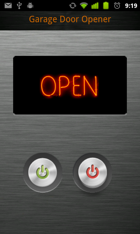 Garage door opener apps android ppi blog for Garage design app