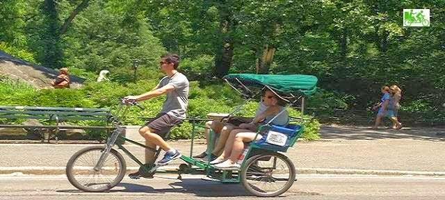 2Hrs Central Park Pedicab Rickshaw Tours
