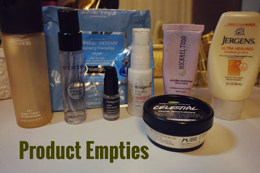 Product Empties | Sept-Oct 2015