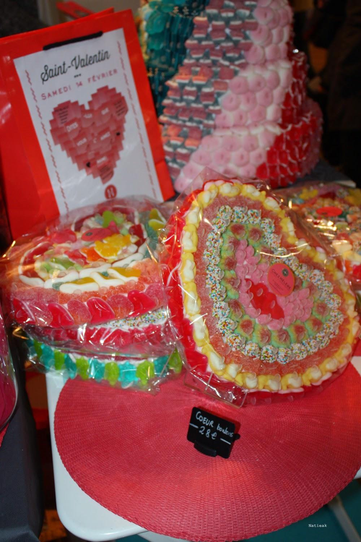 composition de bonbons épicerie gourmande Chez Hélène