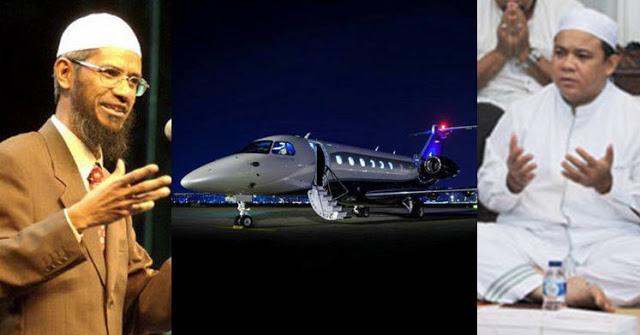 Masya Allah.. Pengusaha Muslim Ini Pinjamkan Gratis Pesawat Pribadinya Untuk Safari Dakwah Dr Zakir Naik