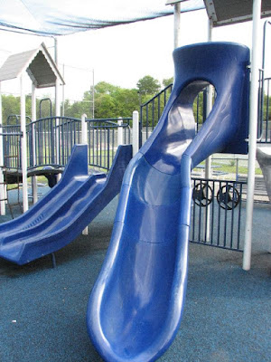 Slides Bourne Playground