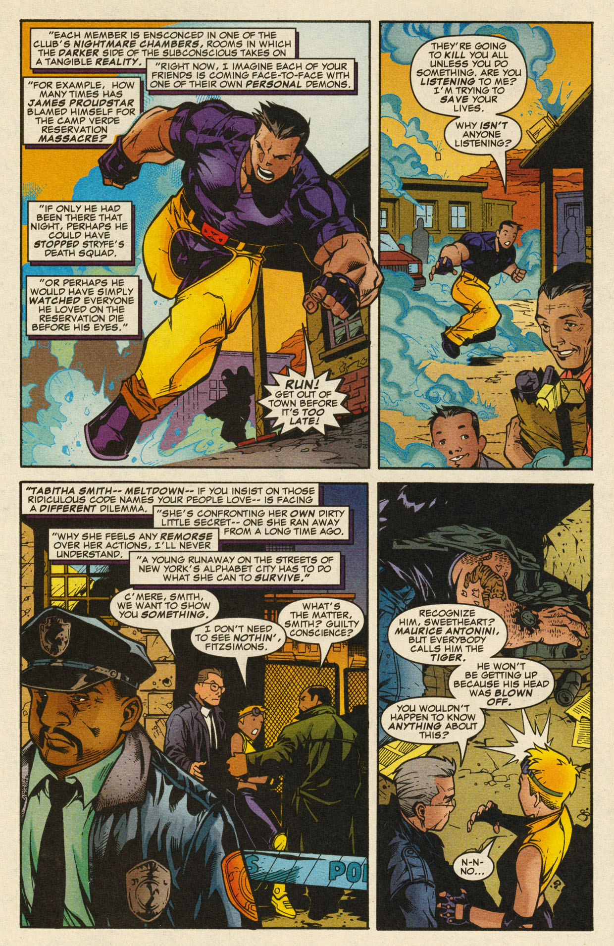 Read online X-Force (1991) comic -  Issue #98 - 8