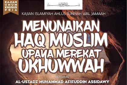 Pengajian Ahlus Sunnah Wal Jama'ah Magelang