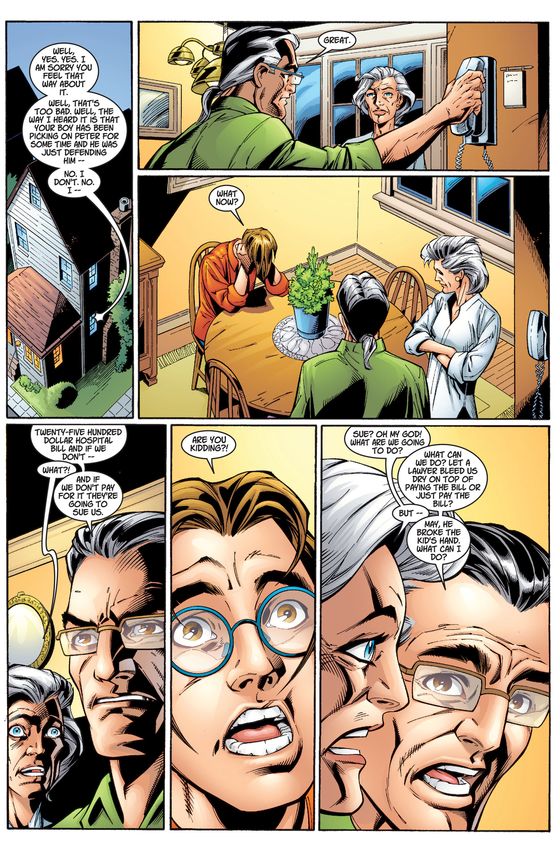 Read online Ultimate Spider-Man (2000) comic -  Issue #2 - 12
