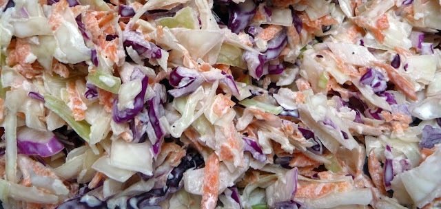 Creamy Coleslaw , weight watchers recipes , 1 smart point