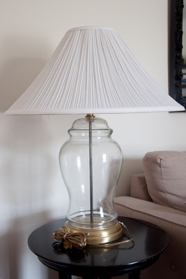 Shared And Doubled Diy Mercury Glass Lamps