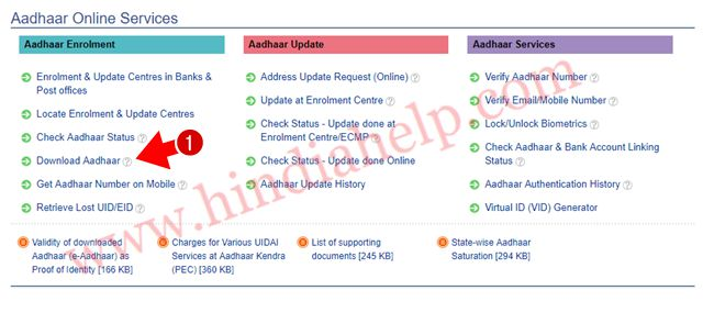 Aadhar Card Download कैसे करे