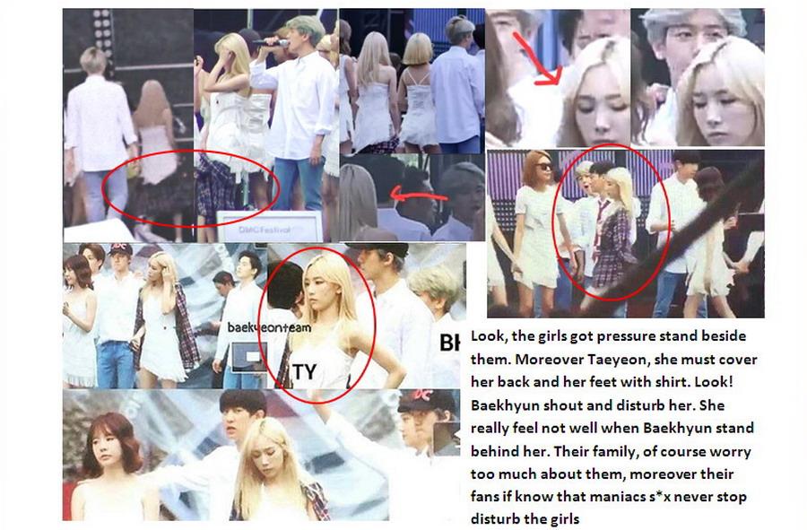 Byun baekhyun taeyeon dating