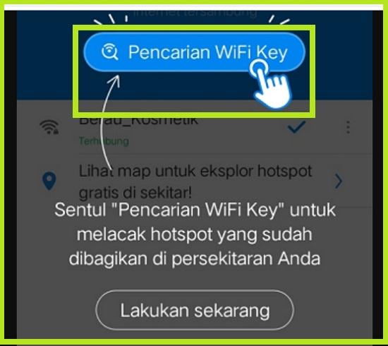 Cara Hack WIFI Menggunakan WiFi Master Key 2