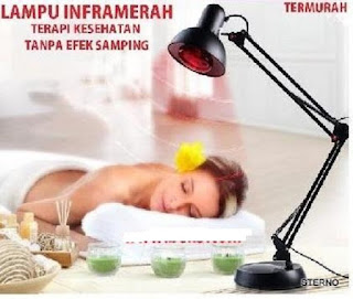 lampu IRR untuk penderita bell's palsy