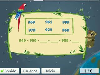 http://www.mundoprimaria.com/juegos-matematicas/juego-series-numericas/
