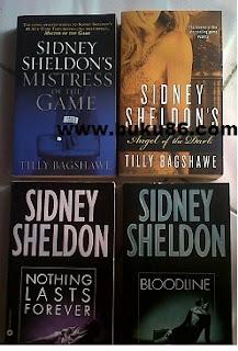 Koleksi  Novel Sidney Sheldon Bahasa Inggris
