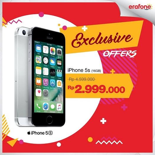 Promo iPhone Terbaru 2017 di Indonesia Mei 2017 - Harga
