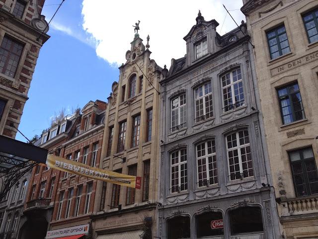 fachadas casas Leuven