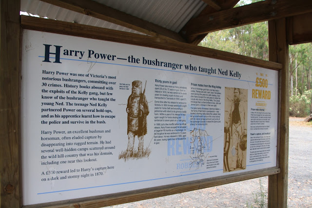 Powers Lookout, Whitfield  Bushrangers of Kelly Country