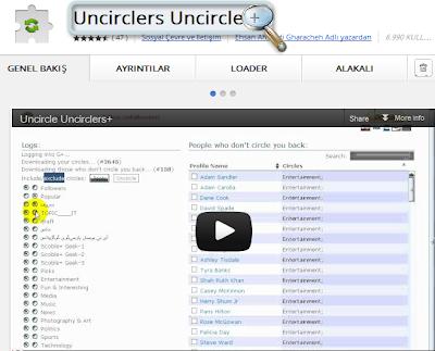 Uncirclers Uncircle