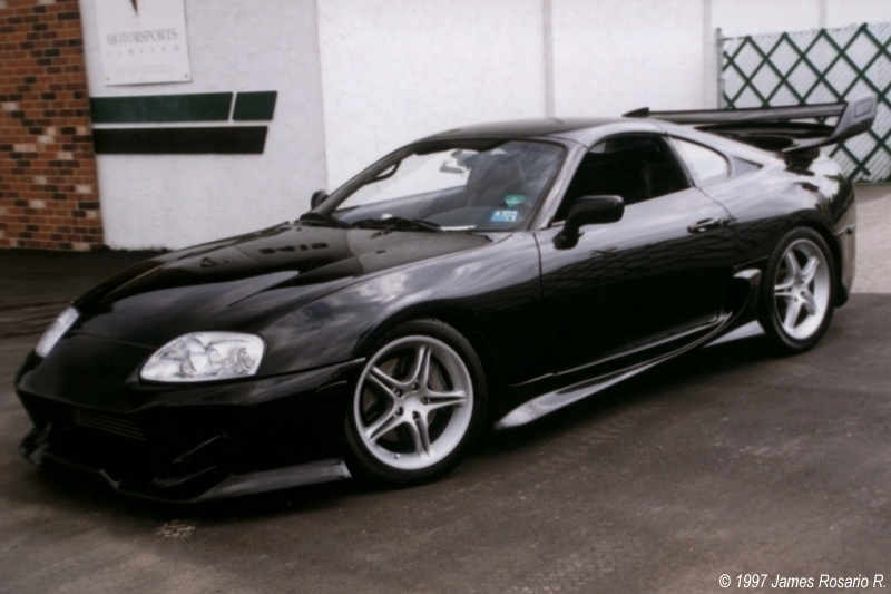 Black Toyota Supra Wallpaper Carincarwallapers