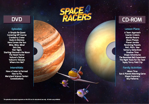 space racers educators kit contents