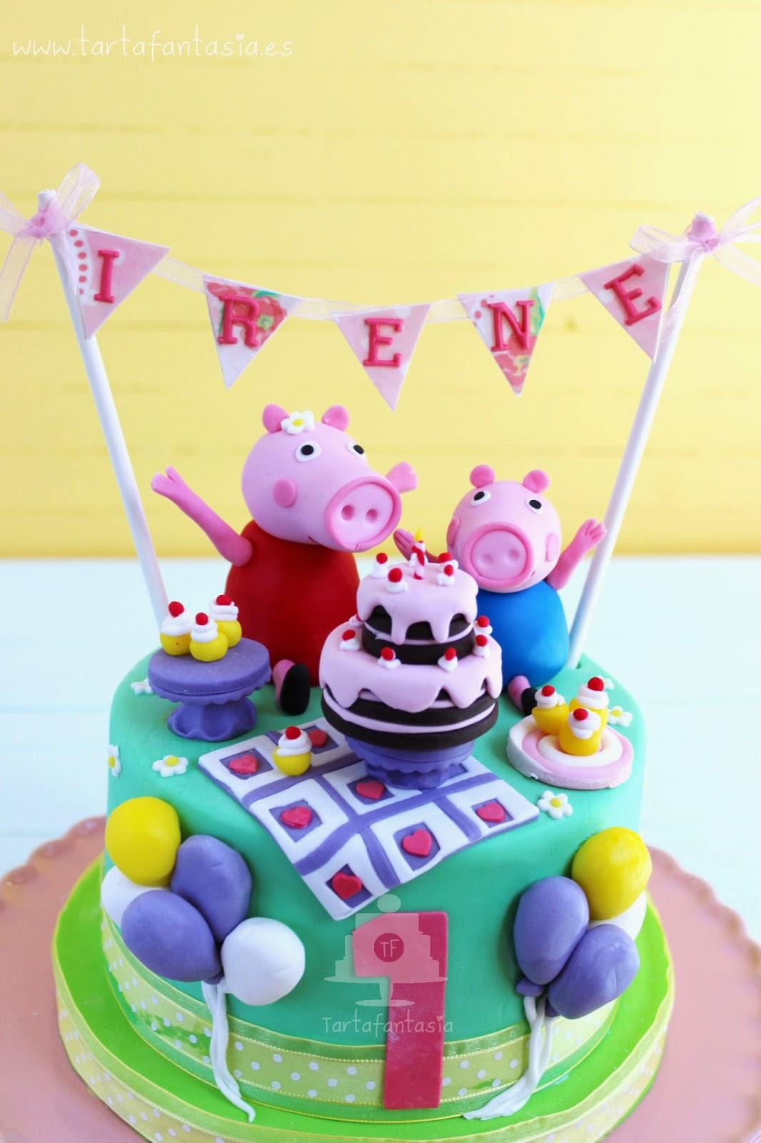 Tarta Peppa Pig