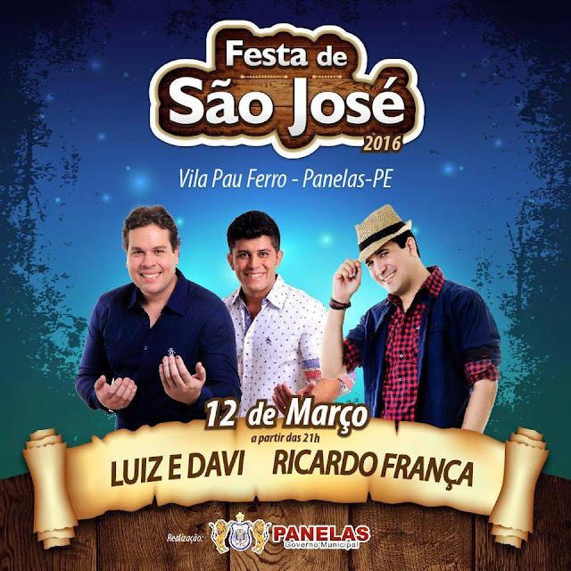 Festa de São José na Vila Pau-ferro em Panelas-PE