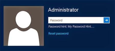 Cara reset password windows 8