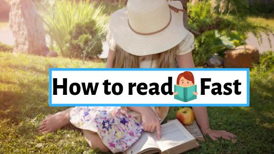 How to read fast | Reading Tips