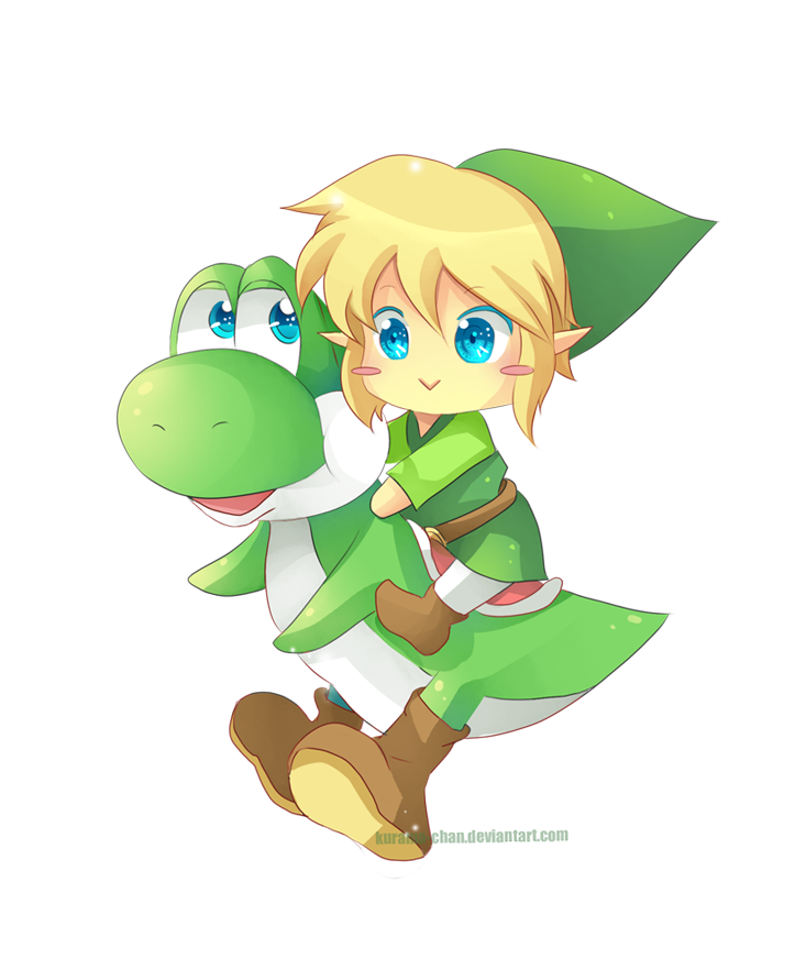 All Things Kawaii Link And Yoshi