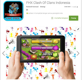 fhx clash of clans screenshot