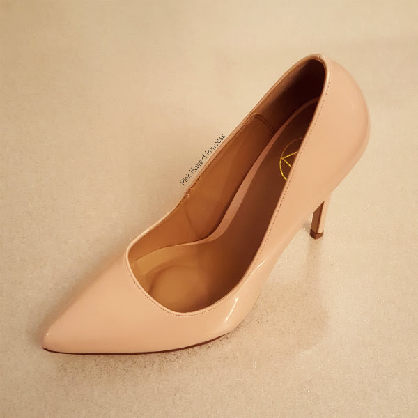 missguided nude court shoe