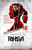Mysterious poster of Bollywood movie Rahasya