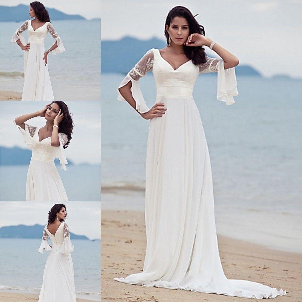 Beach Wedding Dress Ideas Look Perfect | Single Design Ideas