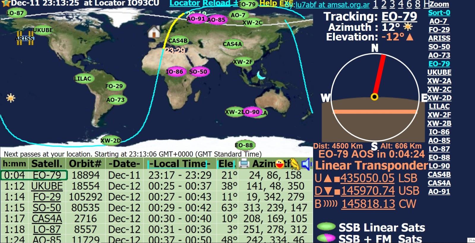 Ham Radio: Catching Some New Satellite Signals