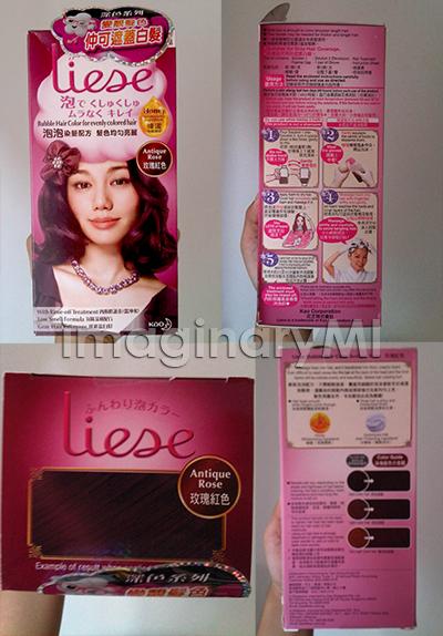 An Kao Prettia Bubble Hair Coloring