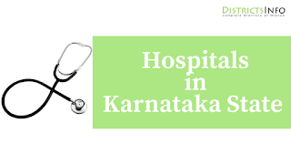 List of Hospitals in Karnataka State