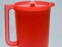 Teko Air Minum Cherry Pitcher 2 Liter Tupperware Non Katalog
